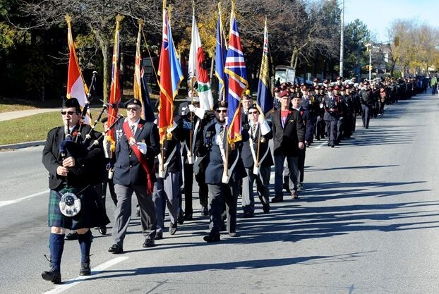 Brampton Remembrance Day