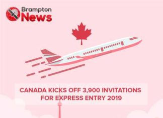 Canada Express Entry List 2019