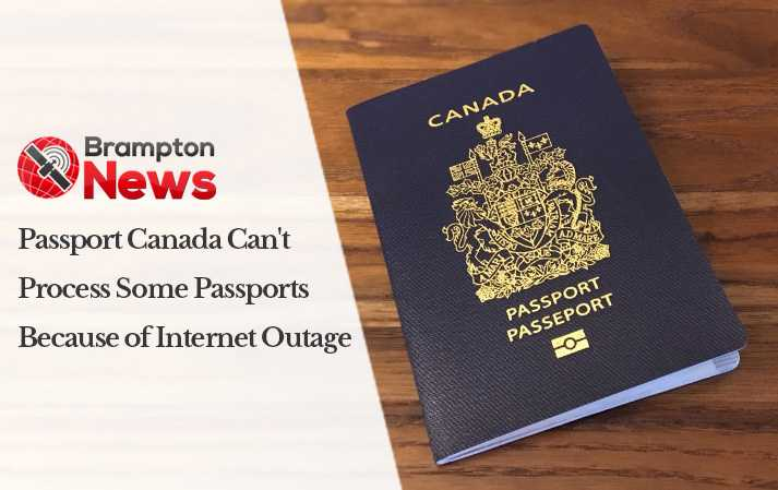 Passport Canada can't process some passports because of