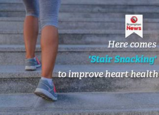 stair snacking