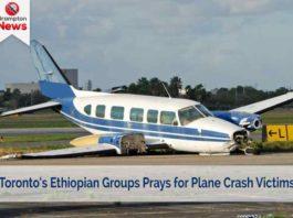 brampton news Toronto's Ethiopian community prays for plane crash victims