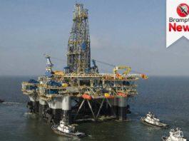 Nigerian oil rig