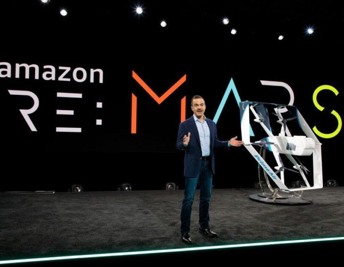 Amazon new drones