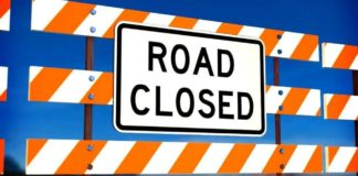 Canada Day Road Closed