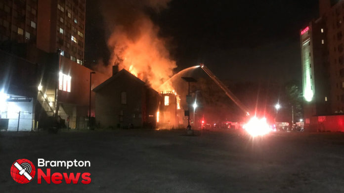 Fire knocked down in North York home