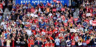 Donald Trump promises 2020 election