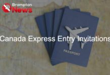 Express Entry invitations