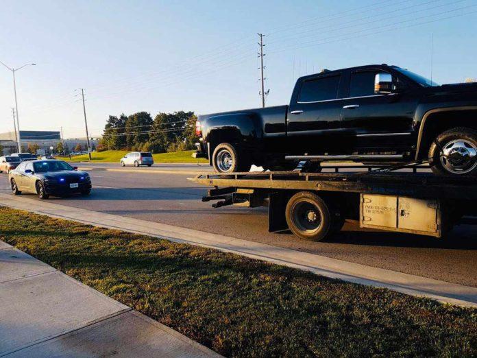 Peel Police Tow Truck